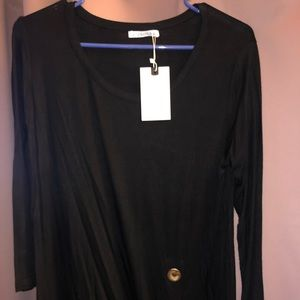 Women's Blouse 3/4 Sleeve Size Med